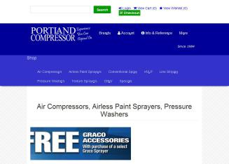 Portland+Compressor Website