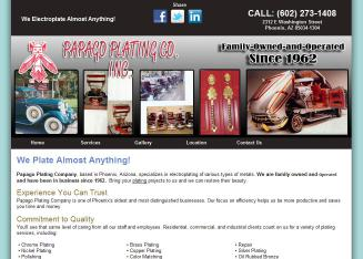 Papago+Plating+CO+Inc Website