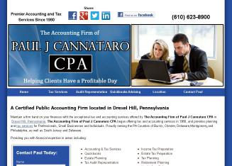 Paul+J+Cannataro+CPA%2C+MST%2C+CFP Website