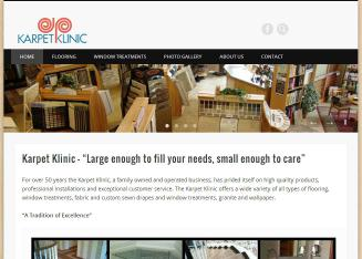 Karpet+Klinic Website