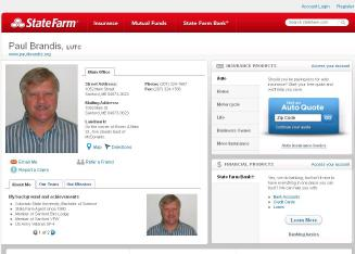 Paul+Brandis+-+State+Farm+Insurance+Agent Website
