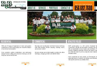 D+%26+R+Landscaping Website
