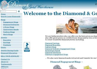 Diamond+%26+Gold+Warehouse+Inc Website