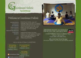 Greenhouse+Holistic+%26+Wellness+Center Website