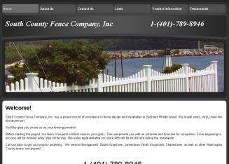 South+County+Fence+Co Website