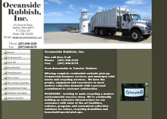 Oceanside+Rubbish+Inc Website