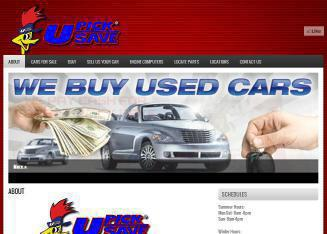 U-Pick-U-Save+Self+Serv+Auto+Dismantling Website
