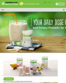 Herbalife+Nutrition Website