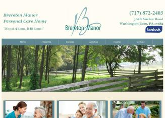 Brereton+Manor+Guest+Home Website
