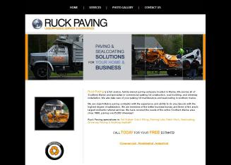 Ruck+Paving+%26+Sealcoating Website