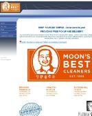 Moon%27s+Best+Cleaners Website