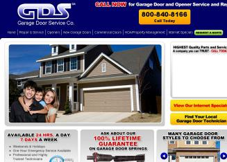 GDS+Garage+Door+Service Website