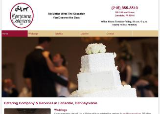 Marjeane+Caterers+Inc. Website