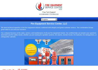Fire+Equipment+Service+Center Website