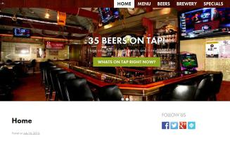 Crane+Room+Bar+%26+Grill Website