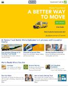Penske+Truck+Rental Website