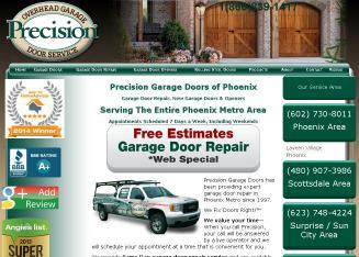 Precision Door Service Phoenix In Phoenix Az 7652 E