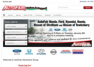 Auto+Fair+Ford Website