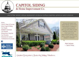 Capitol+Siding+%26+Home+Improvement+Co+Inc Website