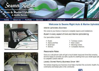 Seams Right Auto & Marine Upholstery