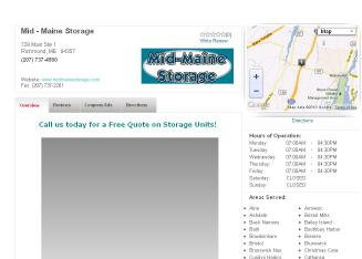 Mid-Maine+Storage Website