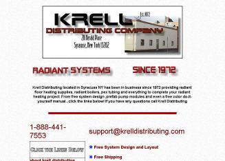 Krell+Distributing+Co+Inc Website