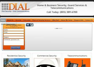Dial+Security Website