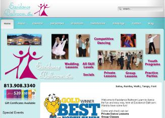 Easidance+Ballroom+Inc Website