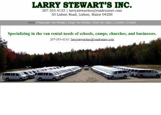 Larry+Stewart%27s+Inc. Website