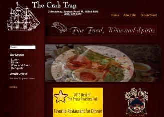 Crab Trap Restaurant Menu Somers Point Yelp | Lobster House