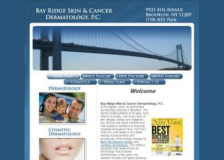 Bay+Ridge+Skin+%26+Cancer+Dermatology+PC Website