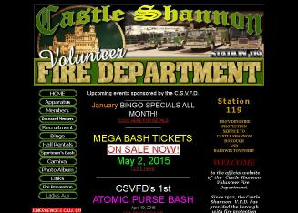 Castle+Shannon+Fire+Department+-+Hall+Rentals Website
