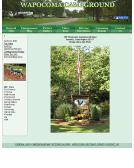 Wapocoma+Campground Website