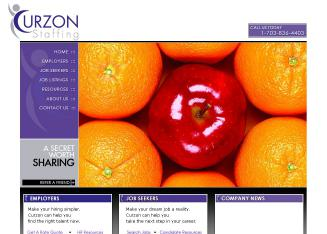 Curzon+Staffing+Inc Website