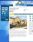 Days+Inn+and+Suites+Cabot Website