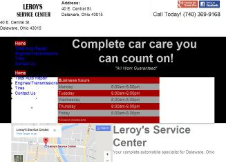 Leroy%27s+Service+Center Website