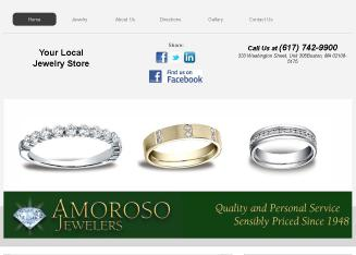 Amoroso+Jewelers Website