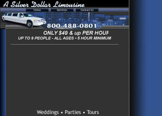 A+Silver+Dollar+Limousine Website