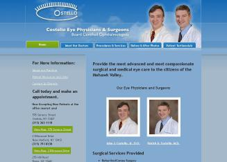 Costello+Eye+Physicians+%26+Surgeons Website