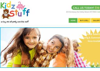 Kidz+Stuff Website