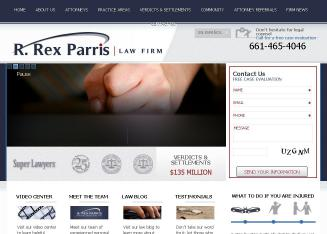 Parris+R+Rex+Law+Firm Website