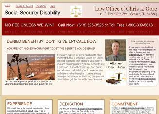 Chris+L.+Gore+-+Attorney+at+Law Website