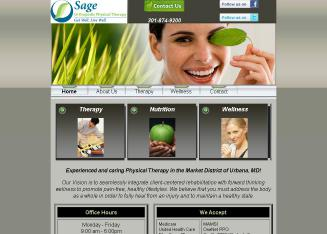 Sage+Orthopedic+Physical+Therapy Website