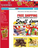 Yummies+Candy+%26+NUTS Website
