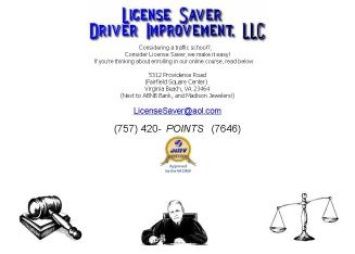 License+Saver+Driver+Improvement+LLC Website
