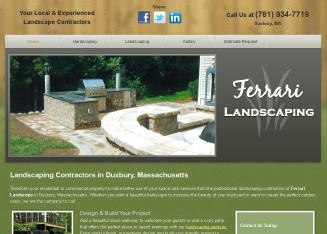 Ferrari Landscaping Masonry & Design