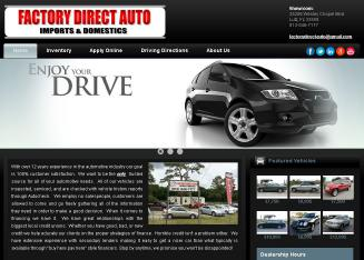 Factory+Direct+Auto Website