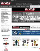 Dival+Safety+Incentives Website