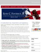 Elvin+C+Fontenot+Law+Office Website