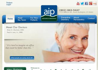 Associates+in+Periodontics Website